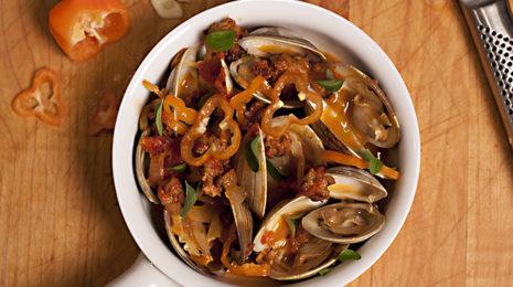 Habanero clams overhead