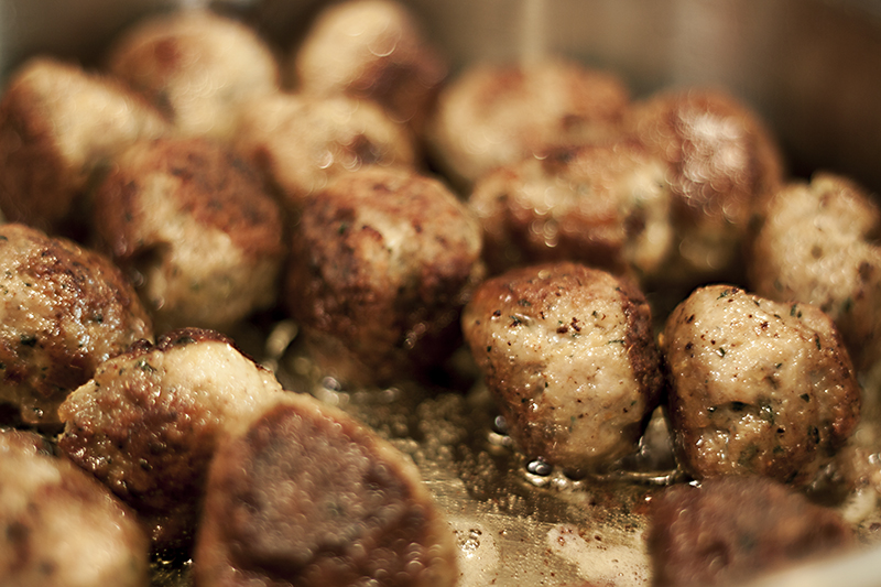 soup meatballs